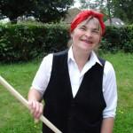 Ruth as land Girl